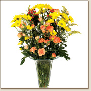 Golden Flower Bouquet FL14