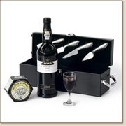 luxury port & cheese gift case PC20