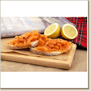1000g sliced smoked scottish salmon SS14