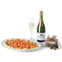 Salmon Champagne and Truffles SS19.10